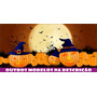 Painel Decorativo Para Festa Lona Banner Halloween 2 X 1m