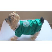 Camisa Pet Palmeiras - Cachorro P & M