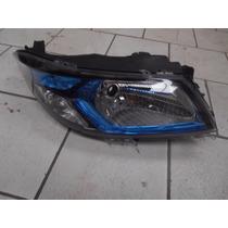 Farol Direito Prisma Moldura Azul 14/16 52037876 P Conserto