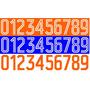 Estampado Numero Holanda 2014 Para Equipos Generico Colores