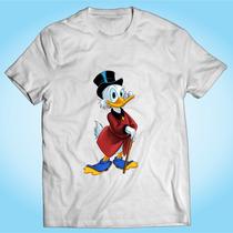 Camisa Tio Patinhas Desenho Animado Tv Personalizada