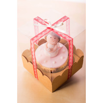 Caja Cupcakes Acetato Pvc Mica/carton 1,2,4 Y 6 Cavidades