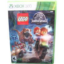Lego Jurassic World Para X-box 360 Físico.jug. Minijuegos!
