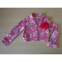 Jaqueta Jeans Pituchinhus Original Florido 4/10