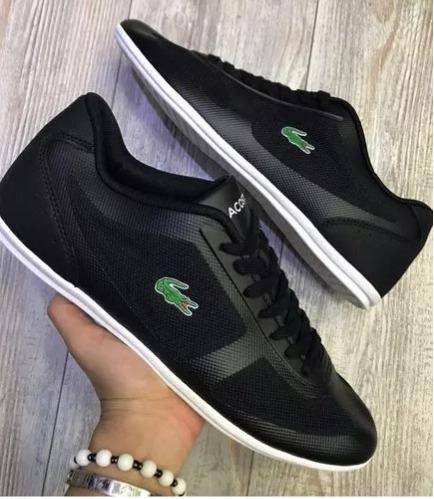 Blanco Tenis En Zapatillas Negro 2018 Hombre 900 149 Lacoste xqSFwqCU1