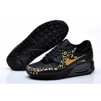 Nike Air Max Leopard Black Gold