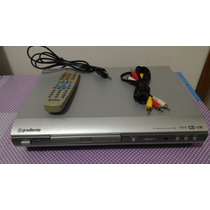 Multimedia Cd Mp3 Dvd Player Gradiente D-200