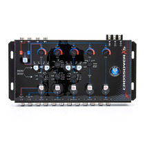 Crossover Digital Jfa X5 Bass 5 Vias Reforço Graves Sub