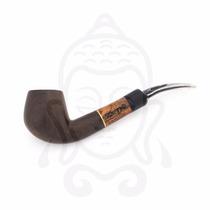 Pipa Tradicional De Tabaco, Madera Fina, Marca Zen Original.