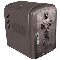 Star Wars Han Solo En Carbonita Refri Mini Servibar Latas