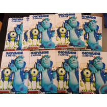 20 Libros Colorear Personalizado Souvenir Monster University