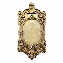 Placa / Espelho 4x2 Cega Modelo Colonial Decorativo