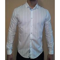 Camisa Zara Original Slim Fit Nueva Talla M / S