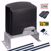 Kit Motor Portão Eletrônico Deslizante Ppa 1/4hp + Suporte