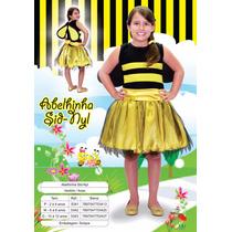Fantasia Infantil Menina Abelha Sidnyl