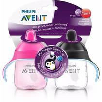 Set 2 Teteros De Entrenamiento Avent My Penguin Sippy Cup Us