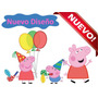 Kit Imprimible Peppa Pig Y George, Nuevo 2x1