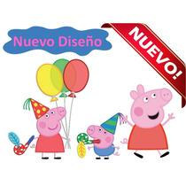 Kit Imprimible Peppa Pig Y George, Nuevo 2x1