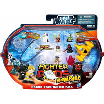 Star Wars Naboo Starfighter Battle Rampage Jogo Novo
