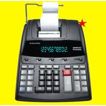 Calculadora Profissional Pr 4000 12d Visor Extra Grde Lcd
