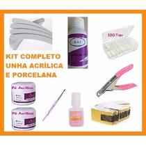 Kit Unha Acrílica/porcelana. Novidade !! - 7