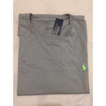 Camiseta Básica Polo Ralph Lauren Tamanho Gg / Xl Original