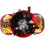 Baldinho Para Cerveja, + Petisqueira Em Madeira