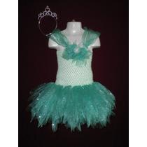 Nuevo Vestido Dress Tutu Disfraz Princesa Hada Campanita