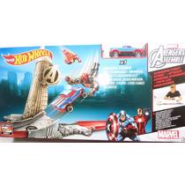 Hot Wheels Marvel Capitao America Mattel Cdj22