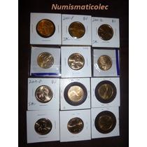 Set Dollar Native Sacagawea 2000-2014 Varias Fechas Usa