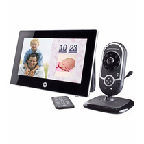 Motorola Monitor Para Bebe, Porta Retrato Digital, Reloj 7