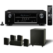 Home-theater Receiver Denon S510bt E Pure Acoustics 5.1 Lord