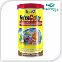 Ração Tetra Color 200g Ativa Coloração Peixes Tropicais