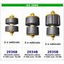 Kit Completo Montante / Soporte De Cabina Ford F100 74/80