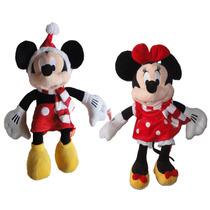 Mickey Mouse O Minnie 50cm Peluche Regalo Decoración
