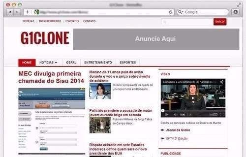 Tema Site G1 Para Wordpress / Site De Notícias - R$ 20,00 em Mercado ...