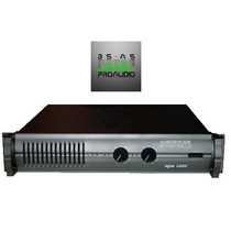 Amplificador De Potencia American Pro Apx1200 640w X2 4ohm