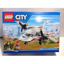 Avion Ambulancia Lego City 60116 Envio Sin Cargo Caba