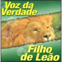 Cd Voz Da Verdade - Filho De Leão Cód. 3743 (cantado)