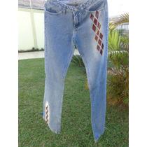 Calça Jeans Feminina, Calça Jeans Detalhes