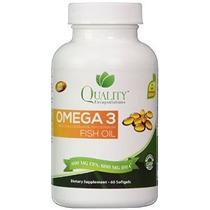 Omega 3 Aceite De Pescado - Triple Fuerza - 1500 Mg Ácidos G