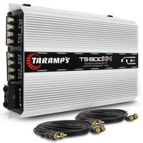 Modulo Taramps Ts800 X4 800w Rms 4 Canais 2 Ohms 800x4