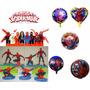 Homem Aranha Kit Festas Spider Man Decorações Aniversários
