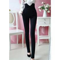 Pantalon-corset Formal Lycra Gruesa Moda Japonesa 5210
