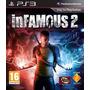 Nuevo Y Original, Infamous 2 Ps3 Playstation 3, Entrega Hoy