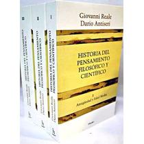 Giovanni Reale D Antiseri Hist Pensamiento Filosófico Herder