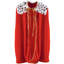 Niño Rey Reina Traje (rojo) Accesorio Partido (1 Cargo) (1 P