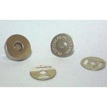 Botão Imantado - 100 Unidades - Cor Prata