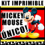 Kit Imprimible Mickey Mouse Clasico 2x1