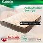 Colchon Cannon Exclusive Pillow 140 X 190 30kg Alta Densidad